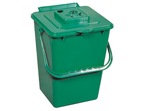 Eco Kitchen Compost Collector with Carbon Filter