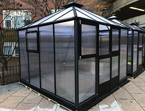 Juliana Urban Oasis Polycarbonate Greenhouse