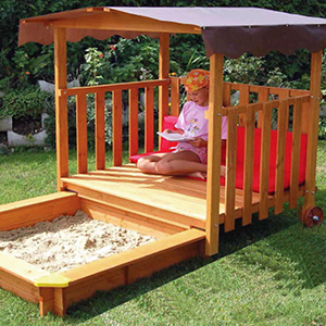 Playhouse Sandbox by Gaspo