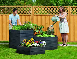 Modular Raised Bed Planting System