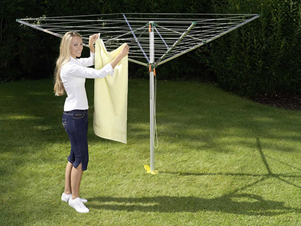 Comfort plus 600 rotary clothes dryer 1