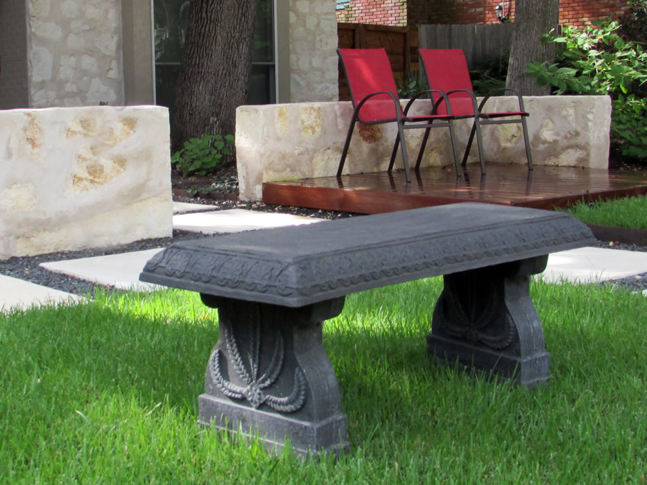 bench charcoal grey