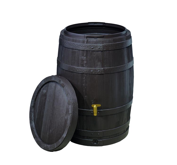 VINO Rain Barrel with Fast Flow Tap