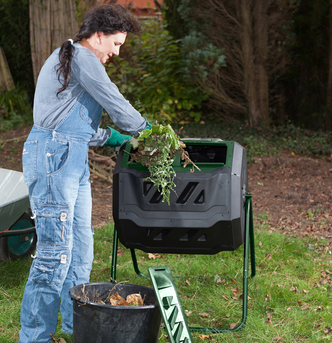 easy loading mr spin compost tumbler1