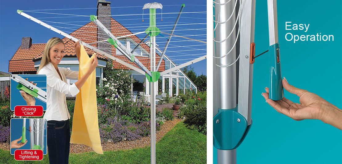 Juwel Nova Plus 500 Rotary Clothes Dryer graphic