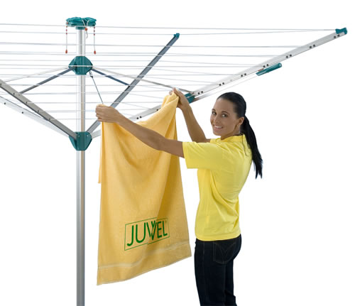 Nova Plus 500 Rotary Clothes Dryer white background