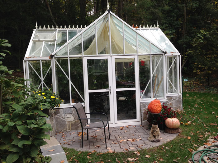 Evelyn antique orangerie greenhouse 1