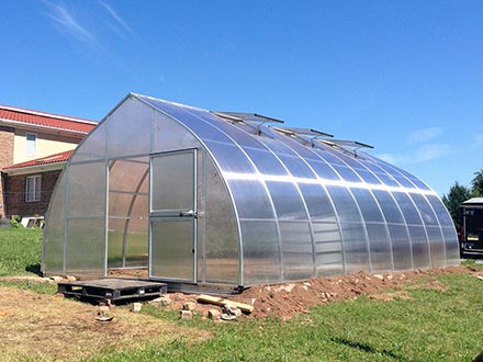 Newly Installed RIGA XL Greenhouse