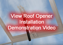 Roof window with opener demonstration video
