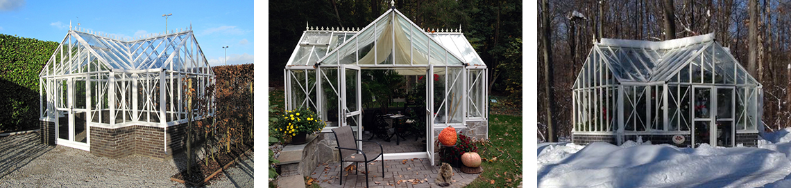 Royal Victorian Antique Orangerie Greenhouse