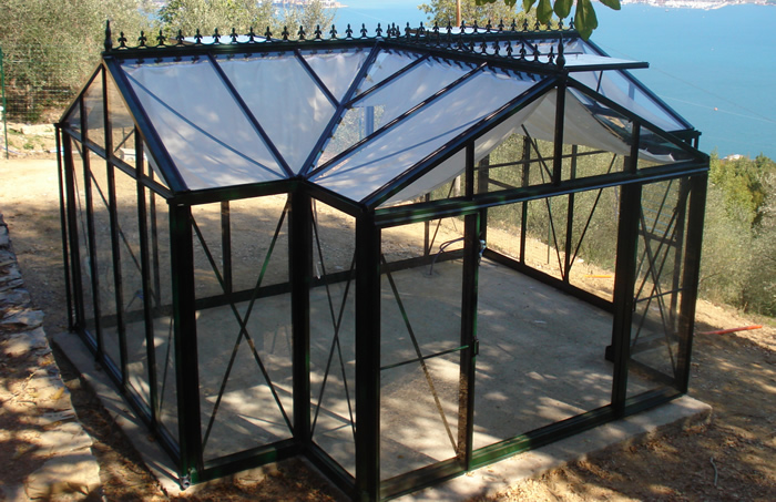 Newly Constructed Royal Victorian Orangerie Greenhouse
