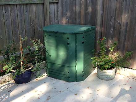 easy to load mr spin compost tumbler