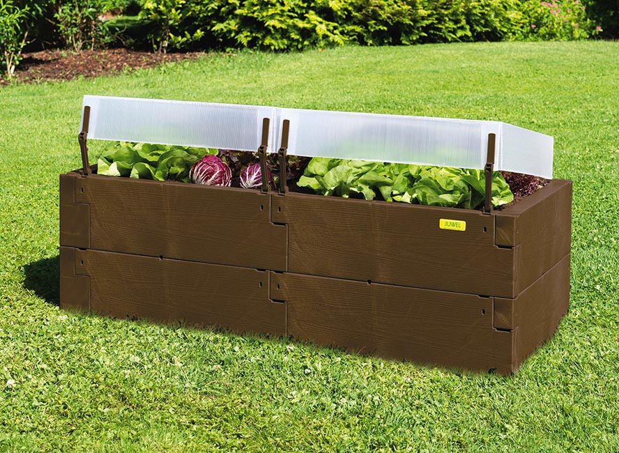 Timber Raised Bed - With Covers