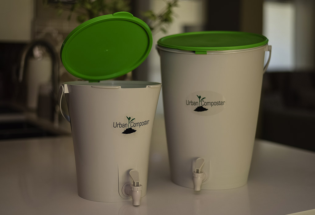 Urban Composter - Small and large green open