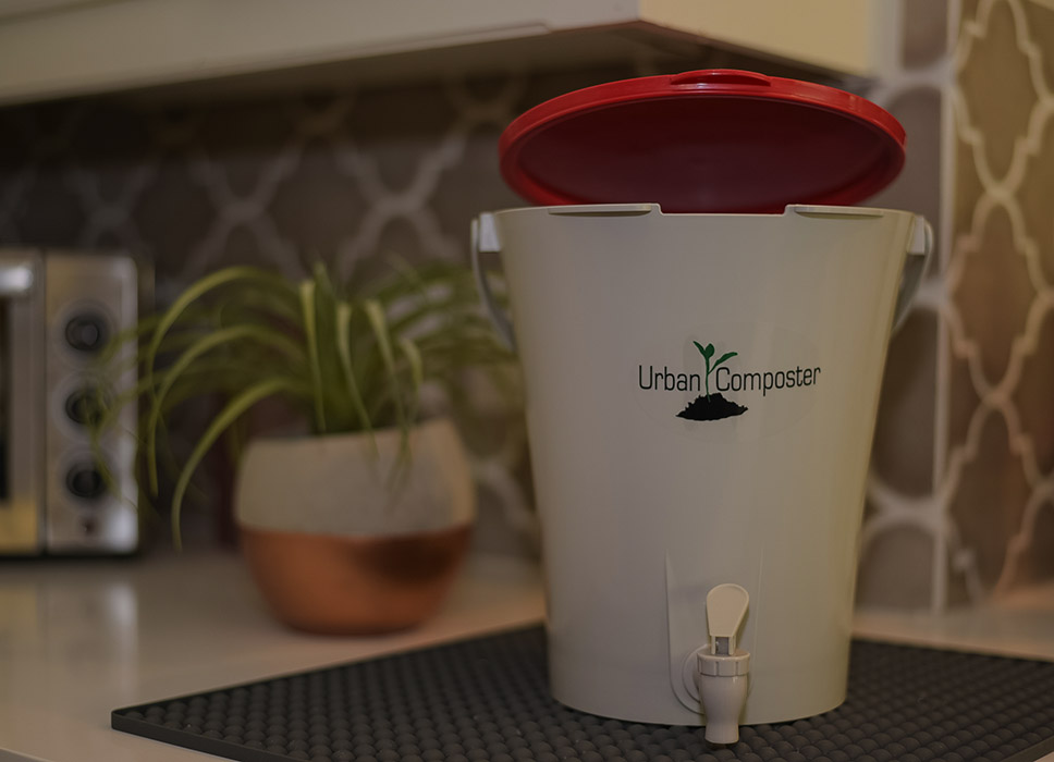 Urban Composter - Small red