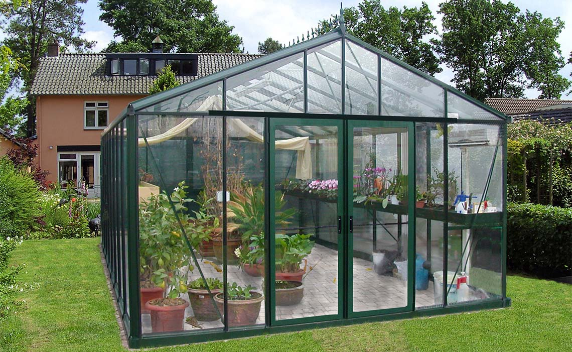 Greenhouse for serious growers